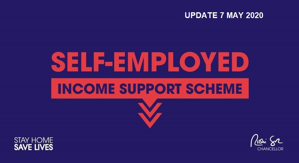 Self Employed Income Support Scheme (SEISS) Update 7 May 2020